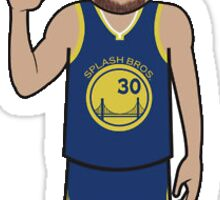 Steph Curry Cartoon Sticker