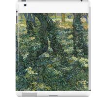 Vincent Van Gogh - Undergrowth, July 1889 - 1889 iPad Case/Skin