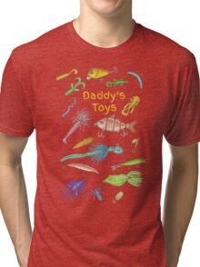 Daddy's Toys Tri-blend T-Shirt