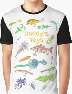 Daddy's Toys Graphic T-Shirt
