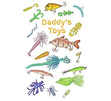 Daddy's Toys Photographic Print