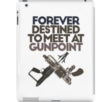 Meet at Gunpoint iPad Case/Skin