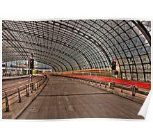 Hauptbahnhof Berlin Poster