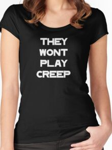 No Creep (Version 4) Women's Fitted Scoop T-Shirt