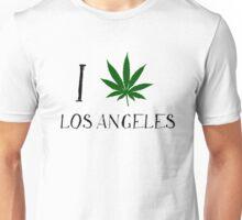 I Love Los Angeles Weed T-Shirts Unisex T-Shirt