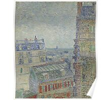 Vincent Van Gogh - View from Theo's apartment, March 1887 - April 1887 Poster