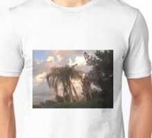 A BEAUTIFUL COLORFUL SUNSET IN THE DESERT Unisex T-Shirt