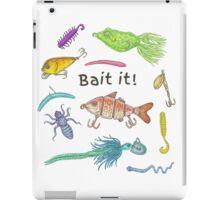 Bait It! iPad Case/Skin