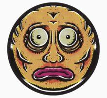 Sticker Face Kids Tee
