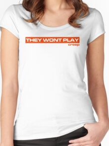 No Creep (Version 1) Women's Fitted Scoop T-Shirt