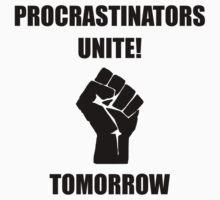 Procrastinators Unite Kids Tee