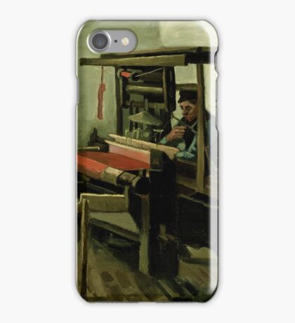 Vincent Van Gogh - Weaver, 1884 iPhone Case/Skin