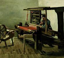 Vincent Van Gogh - Weaver, 1884 by famousartworks