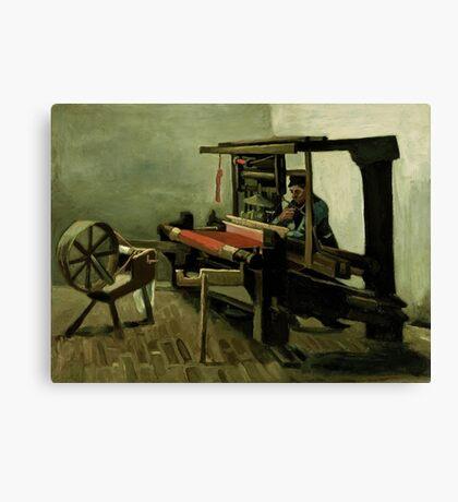 Vincent Van Gogh - Weaver, 1884 Canvas Print