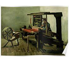 Vincent Van Gogh - Weaver, 1884 Poster