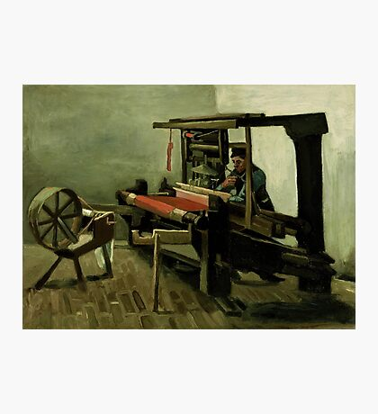 Vincent Van Gogh - Weaver, 1884 Photographic Print