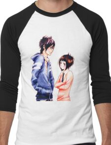 Anime Couple Suki-tte ii na yo Men's Baseball ¾ T-Shirt