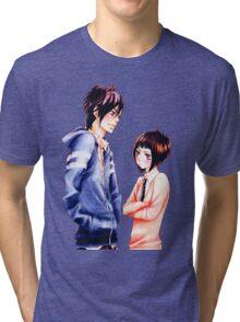 Anime Couple Suki-tte ii na yo Tri-blend T-Shirt