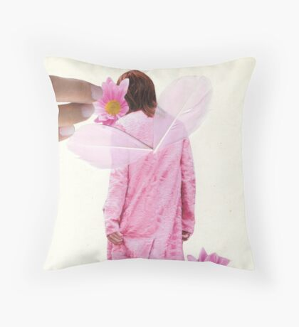 Take care of your angel Throw Pillow