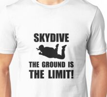 Skydive Ground Limit Unisex T-Shirt