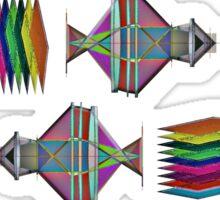 """Lattice Light-Sheeted Microscope""© Sticker"