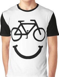 Bike Smile Graphic T-Shirt