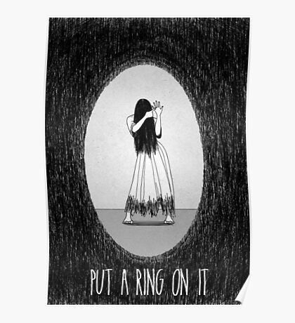 Love Is Scary: Put A Ring On It Poster