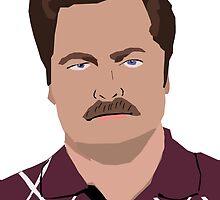 Ron Swanson  by GeorgeWaite