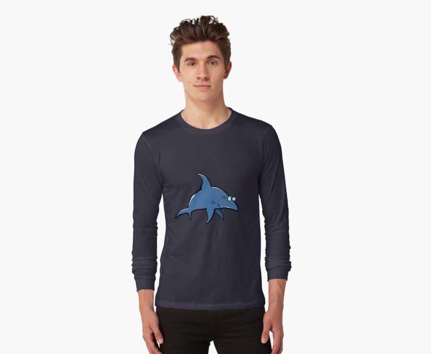 short sighted shark by greendeer