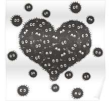 Heart of Soot Sprites Poster