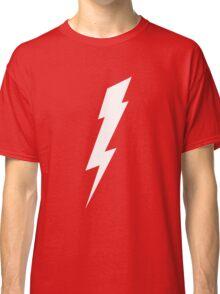 Lightning Bolt - White Classic T-Shirt
