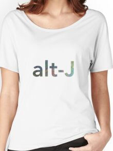 Alt-J Women's Relaxed Fit T-Shirt