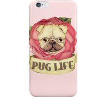 Pug Life - Tattoo Style iPhone Case/Skin