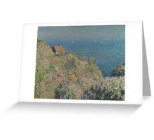 Claude Monet - La maison du pêcheur Varengeville  Greeting Card