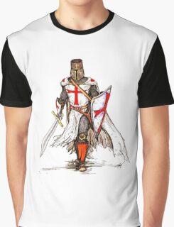Templar Knight Graphic T-Shirt