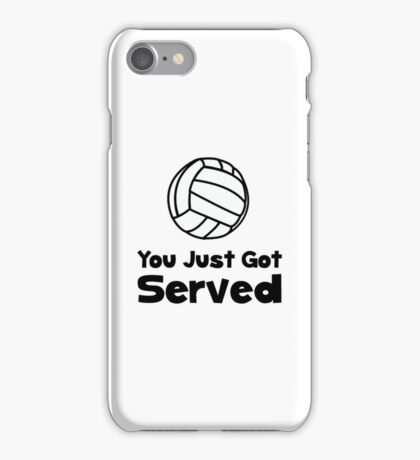 Volleyball Served iPhone Case/Skin