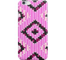 cool retro patch country style  iPhone Case/Skin