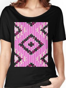 cool retro patch country style  Women's Relaxed Fit T-Shirt