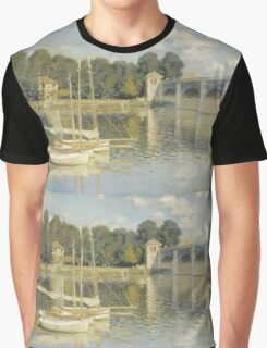 Claude Monet - Le Pont d'Argenteuil, Monet Graphic T-Shirt