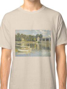 Claude Monet - Le Pont d'Argenteuil, Monet Classic T-Shirt