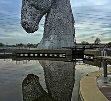 Kelpie Reflected by Tom Gomez