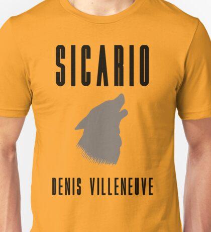 Sicario Minimalist Design Unisex T-Shirt