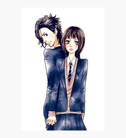 Anime Couple Suki-tte ii na yo Photographic Print