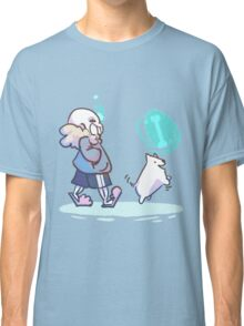 Walking the Dog Classic T-Shirt
