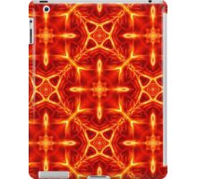 Pattern 59: Abstract fire figures and shapes iPad Case/Skin