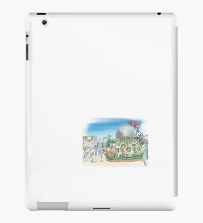 My drawing of Epcot  iPad Case/Skin