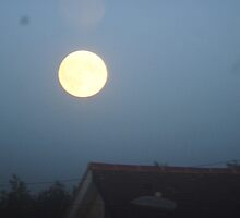 Supermoon by mehreen