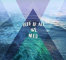 SURF IS ALL  WE NEED  by motiashkar