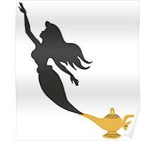 Mermaid - Genie Lamp Poster