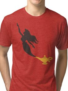Mermaid - Genie Lamp Tri-blend T-Shirt